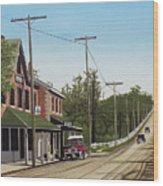 Hoggs Hollow Toronto 1920 Wood Print
