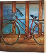 Hoi An Bike Wood Print