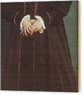 Holbein Christina Of Denmark- Duchess Of Milan 1538 Nation Hans The Younger Holbein Wood Print