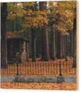Holderness Cemetery Wood Print
