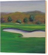 Hole 1 Great Beginnings Wood Print