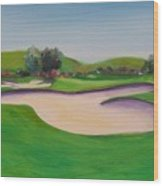 Hole 10 Pastures Of Heaven Wood Print