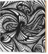 Hole Wood Print