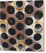 Holes Wood Print