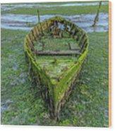 Holes Bay - England Wood Print