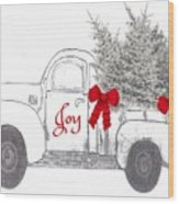 Holiday Joy Chesilhurst Farm Wood Print