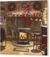 Holiday Spirit Wood Print