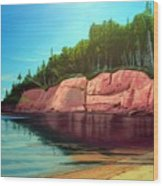 Holland Cove Wood Print