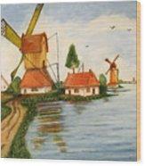 Holland Wood Print
