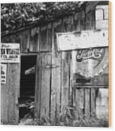Hollen's Grocery Store Wood Print