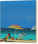 Hollywood Beach Florida Wood Print