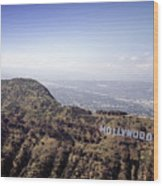 Hollywood Sign, Built Ca. 1923 By Mack Wood Print