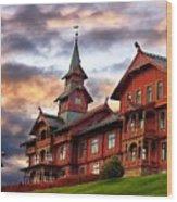 Holmenkollen Hotell Wood Print