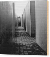 Holocaust Memorial Two Wood Print