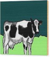 Holsteiner Wood Print