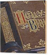 Holy Bible Wood Print