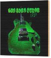 Holy Grail 1959 Retro Relic Guitar Wood Print
