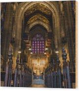 Holy House Wood Print