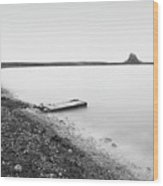 Holy Island - Minimalism Wood Print
