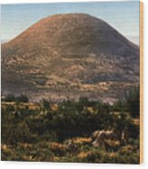Holy Land - Mount Tabor Wood Print