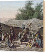 Holy Land: Bedouin Camp Wood Print