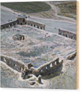Holy Land: Caravansary Wood Print