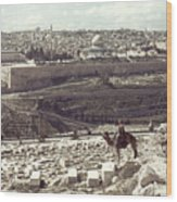Holy Land: Jerusalem Wood Print