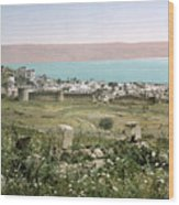 Holy Land: Tiberias Wood Print