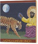 Holy Sadhu Sundar Singh 189 Wood Print