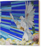 Holy Spirit Dove Wood Print