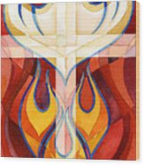 Holy Spirit Wood Print