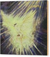Holy Spirit Wood Print