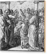 Holy Spirit Visiting Wood Print by Granger
