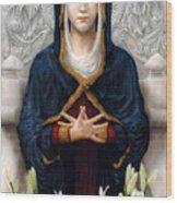 Holy Woman Wood Print