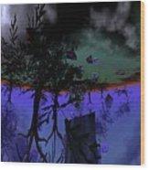 Homage  Wood Print