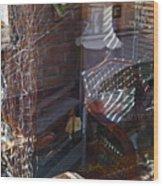 Homage To Ditko Wood Print