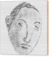 Homage To Georges Seurat Wood Print