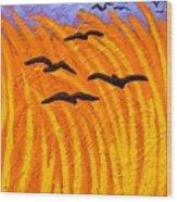 Homage To Vincent Van Gogh Wood Print by John  Nolan