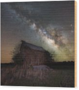 Home Grown Milky Way  Wood Print