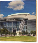 Home Of The Dallas Cowboys Wood Print