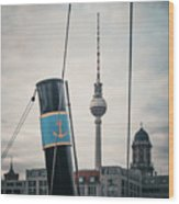 Home Port Berlin Wood Print