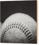 Home Run Ball II  Wood Print