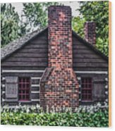 Home Sweet Home Wood Print by Joann Copeland-Paul