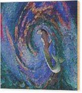 Homecoming Mermaid Wood Print