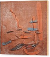 Homegal - Tile Wood Print