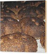 Homemade Lithuanian Rye Bread Wood Print