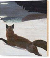 Homer Fox Hunt 1893 Wood Print