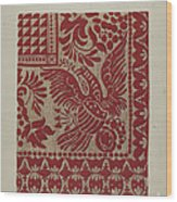 Homespun Coverlet Wood Print