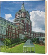 Homestead Omni Hotel Wood Print