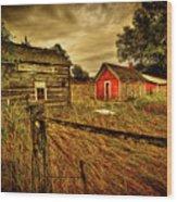 Homestead Palouse Wood Print